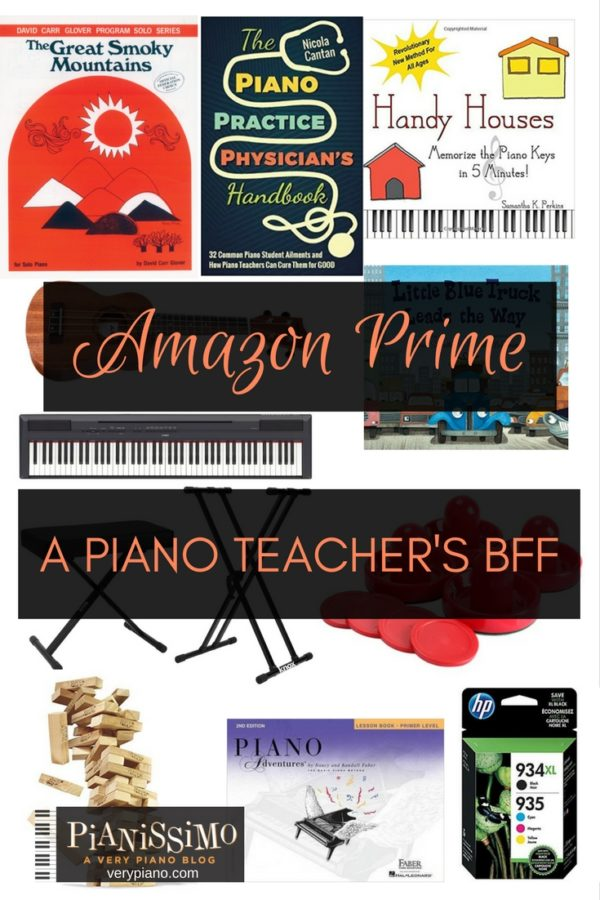 Amazon Prime, A Piano Teacher's BFF
