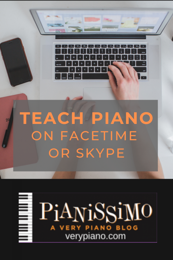 Using Skype or FaceTime To Teach or Learn Piano