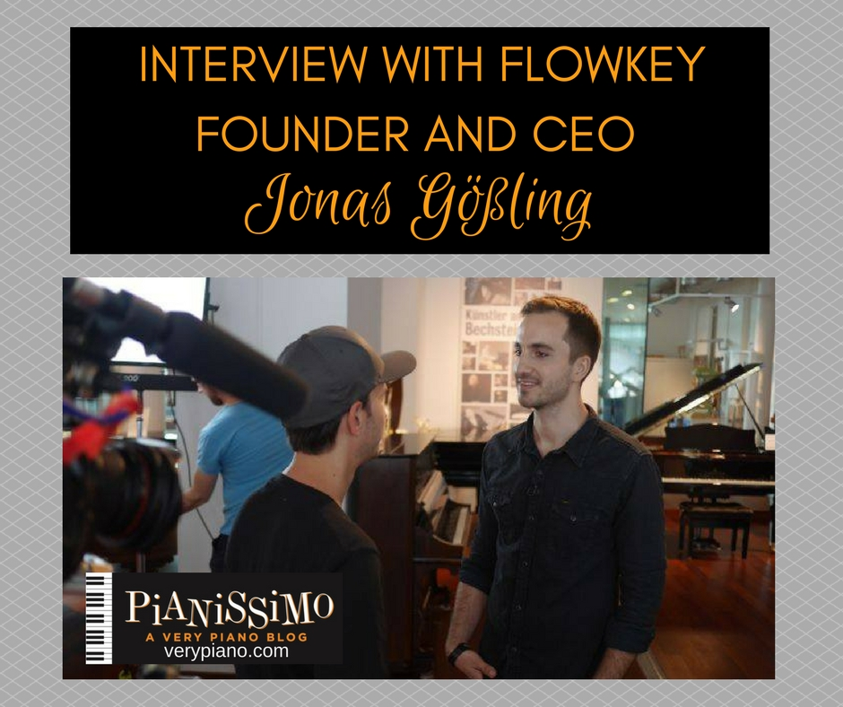 Interview with Flowkey CEO Jonas Gößling