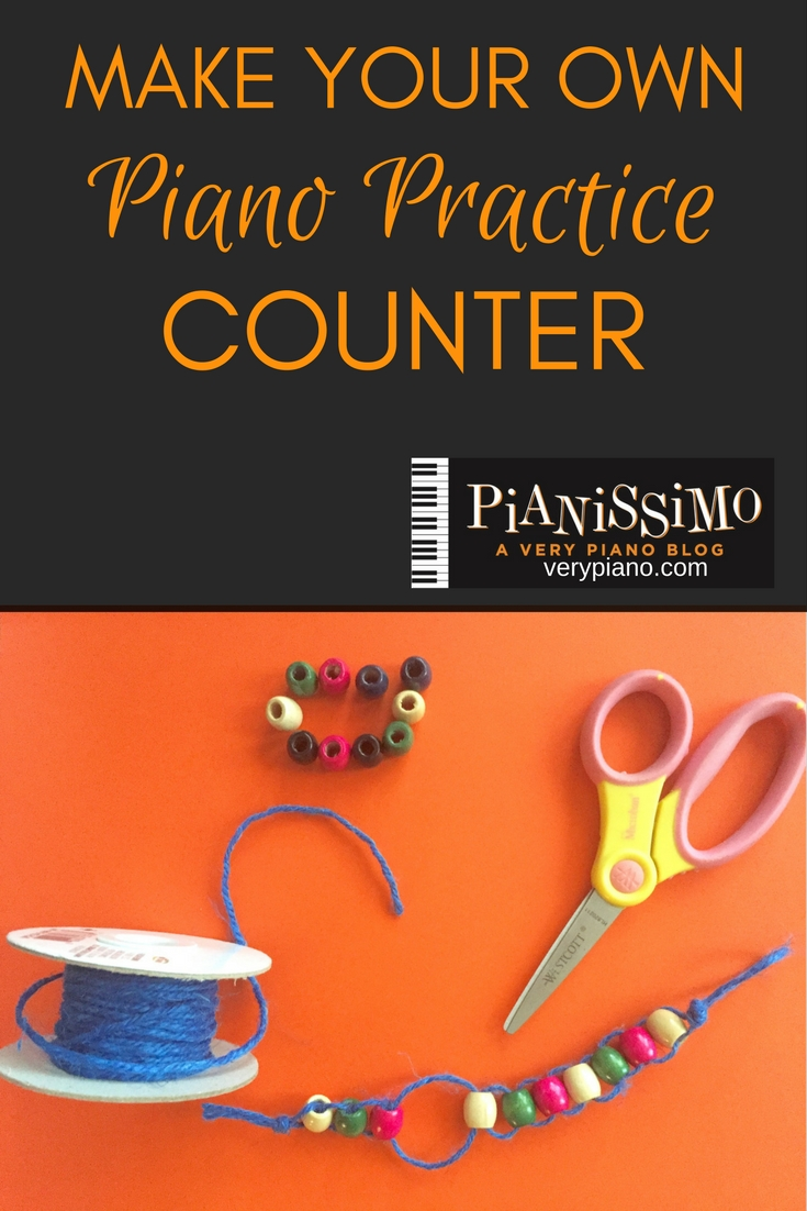 How To Make Your Own Piano Practice Counter