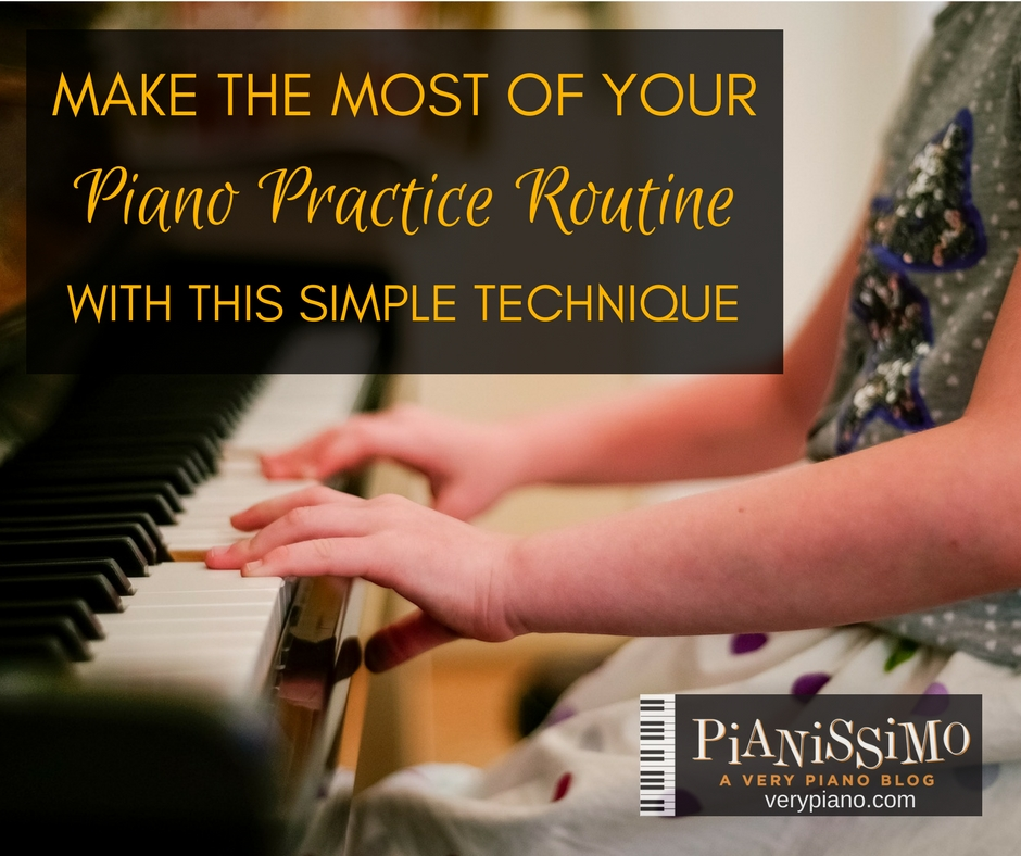 Make The Most Of Your Practice Routine With This Simple Technique