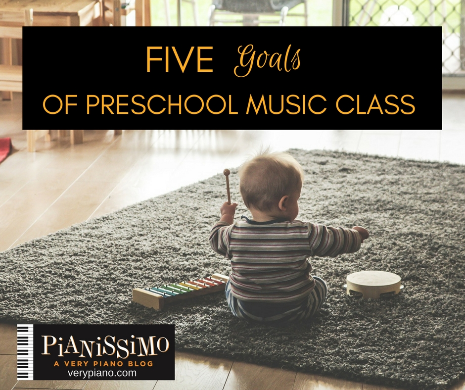 5 Goals Of Preschool Music Class