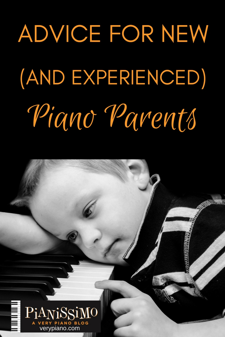 Advice For New (And Experienced) Piano Parents