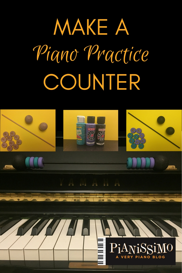 Make Your Own Practice Counter - Larger Version | pianissimo