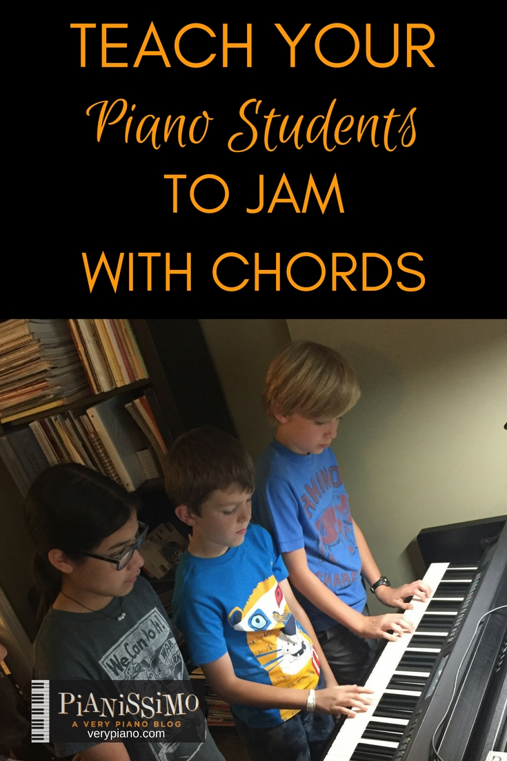 Teaching Piano Students To Jam With Chords