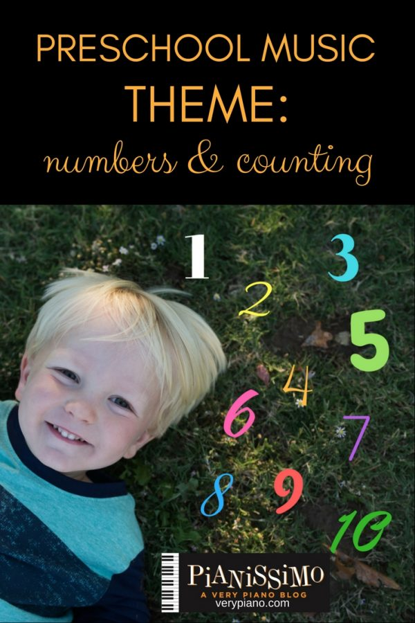 Preschool Music – Numbers and Counting Theme