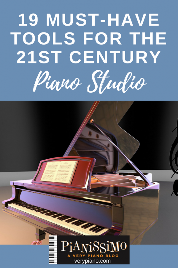 Must-Have Tools For The 21st Century Piano Studio