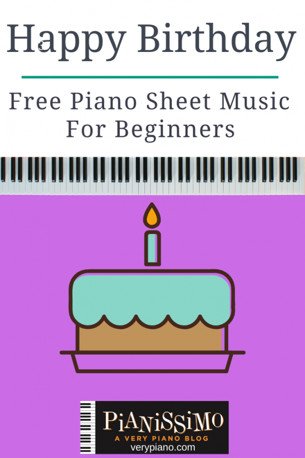 Free Easy Piano Sheet Music: Happy Birthday