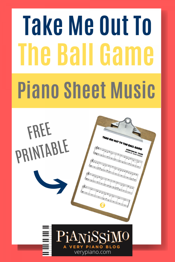 Free Sheet Music: Take Me Out To The Ball Game