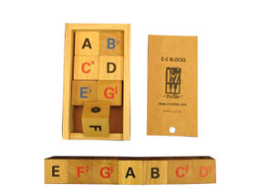Magnetic Wooden Scale Blocks Image
