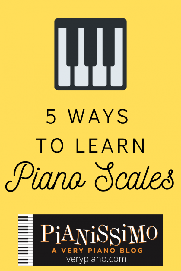 5 Ways To Learn Piano Scales