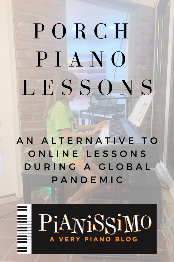 Porch Piano Lessons