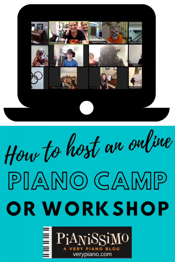 Online Piano Camp Recap